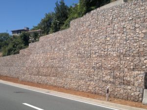 EGNATIA ODOS HIGHWAY: Design of the Retaining Structures